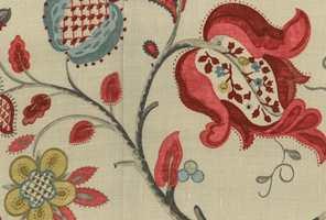 Tekstilet Roslyn fra Sanderson/INTAG.