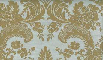 Tapetet Grasscloth Resource 2, West Indies Damask, fra Thibaut/INTAG.