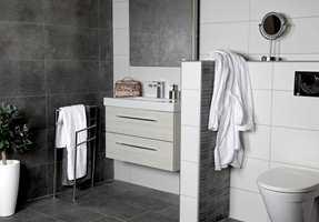 Med enkle midler og metoder holder du badet rent og fresht.