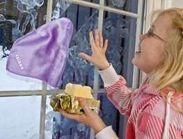 Glasskluter er kjekke å ha med barn i huset.