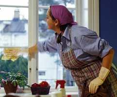 Følger du våre råd, er du garantert skinnende og rene vinduer .