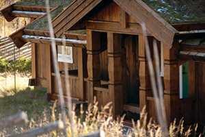 brun hytte