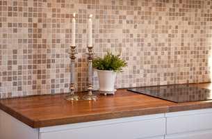 <b>KJÆRLIGHET:</b> Det sies at kjøkkenet er husets hjerte. Benkeplaten trenger kjærlighet iblant. (Foto: Alanor)