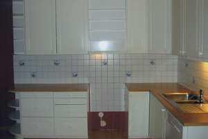 Kjøkken før...
