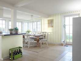100 % vaskbart fibertapet. Fra kolleksjonen Nordic Home, som lanseres av Fiona/Flügger i februar 2012.