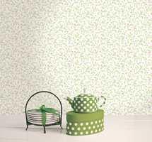 Small Prints er et forlimt, vaskbart papirtapet fra Storeys Wall.