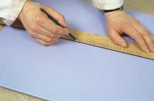 Strek opp mønsteret med blyant...