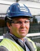 Lars Holm er prosjektleder for et stort nytt kontorprosjekt i Asker.