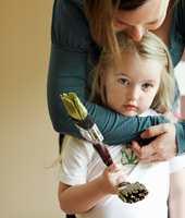 Også små barn vil være med å bestemme hvordan rommet deres skal se ut.