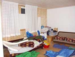 Rommet før.