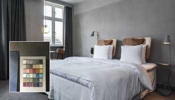 Med en unik, farget sparket kan du få elegante og levende vegger i lekre, naturlige farger.