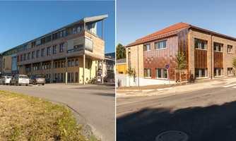 I Lillehammer har det skjedd store endringer både i struktur og bygningsmasse på byens videregående skoler i løpet av et par år. Tre har blitt til to, og fått ett navn.