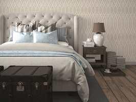luxury vintage style bedroom. 3d rendering<br/><a href='https://www.ifi.no//vegger-med-nordisk-linstruktur'>Klikk her for å åpne artikkelen: Vegger med nordisk linstruktur</a>