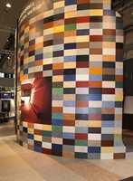 Linoleum for Forbo betyr et spesielt stort utvalg i farger og kombinasjonsmuligheter.