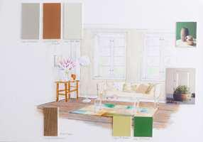 Lisbeth Larsens collage.