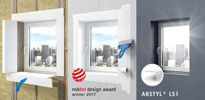 <b>LISTEFRITT:</b> Med ARSTYL® LS1 kan du enkelt få det listefritt rundt vinduet.