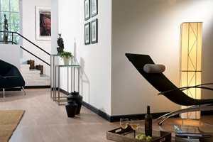 <b>LISTER SEG FREM:</b> Sorte lister i tak, rundt dører og langs gulvet er blitt en stor trend i norske hjem. Stadig flere opptager at de sorte rammene kan stramme opp rommet og gi nye stemninger.