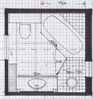 <b>PLANLEGG: </b>En interiørarkitekt kan tegne inn overraskende mange funksjoner på lite plass. (Illustrasjon: Åse Imset)