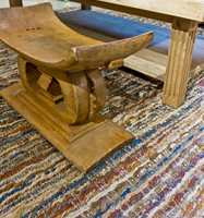 <b>LETT VS. TUNGT:</b> Lette tepper slipper lettere gjennom varmen enn tette og tunge tepper. Dette teppet har vi knipset hos Green Apple.
