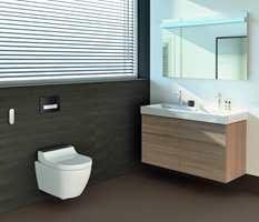Du trenger ikke å ha et bad på størrelse med den lokale svømmehallen for å få luksusfølelsen du leter etter. Med et elegant dusjtoalett som utnytter plassen optimalt, får du spafølelsen inn også på de små badene.