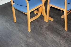 Med LVT får du et lekkert og praktisk gulv.