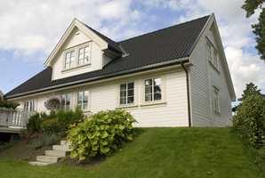 Huset Lykkebo til Block Watne ble introdusert i 1991 og er fortsatt et av landets mest solgte kataloghus. Kanskje fordi huset har tatt elementer fra eldre hus som vi forbinder med hygge: Trepanel, smårutete vinduer, skråtak og karnapp.