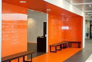 Med Colour Collection tar Fibo-Trespo sikte på å utvide bruksområdene til sine veggpaneler.