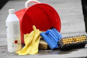 <b>START:</b> Alt malearbeid starter med vask.