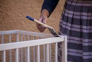 <b>MAL:</b> Godt verktøy og kvalitetsmaling er viktig for et godt resultat.