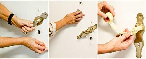 <b>FØRST:</b> Forarbeidet er viktig. Vask, slip og masker før du begynner å male.