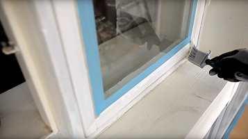 <b>STELL:</b> For at vinduet skal holde seg pent, trenger det litt stell en gang i blant.