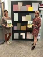 <b>MALINGKOMPETANSE: </B>Trude Iren Bergheim og Inger Frøyshov har selv designet fargene i paletten