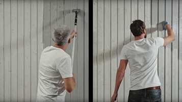 Med rett verktøy og rett fremgangsmåte, kan du gjøre unna malejobben på halve tiden. Se hvordan i denne videoen.