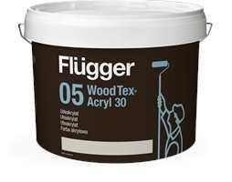 <b>FLÜGGER:</b> 05 Wood Tex Akryl 30 er en av anbefalingene fra Flügger.
