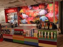 <b>FARGER I BYEN:</b> Fargerike har som mål å fargelegge Oslo. Det skal de gjøre med varer og tjenester fra den nye butikken i Waldemar Thranes gate.