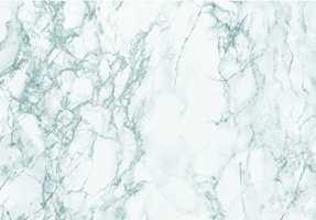 Det populære marmormønsteret finnes i flere farger.