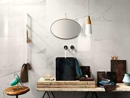 <b>FLISER:</b> Mange sverger til fliser både på vegg og gulv på badet.