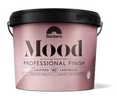 <b>FÅR SELSKAP</b>Mood Professional Finish finnes fra før i 40-glans. Nå kommer ogås en helmatt og en blank variant.