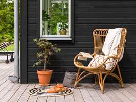 <b>MATT:</b> Et nymalt hus er ikke lenger synonymt med «skinnende blankt». Med nye matte fasademalinger, er mulighetene mange. (Foto: Beckers)