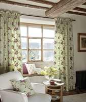 Friske gardiner med