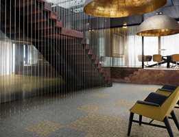 <b>MATT OG BLANK: </b> «Metallic Shades» lar arkitekter og designere eksperimentere med blanke og matte effekter.
