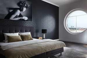 Metropolis by Michalsky er en ny tapetkolleksjon som blant annet har mange geometriske mønstre.