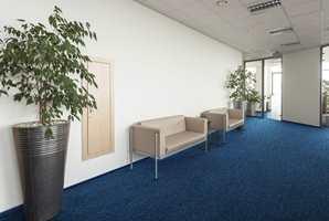 <b>ENSRETTET:</b> Noen typer teppefliser med tett og kort luv kan legges ensrettet og gir da et rolig inntrykk av banevare.