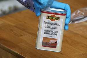 <b>MØBEL:</b> Alanor anbefaler å vaske med Møbelrenser når rustfrie overflater skal rengjøres. (Foto: Robert Walmann/ifi.no)