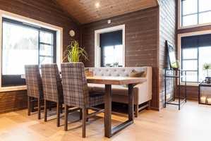 <b>KOMFORTABELT:</b> På hytta lever vi med idealer fra to verdener: lunheten fra det gamle seterhuset, og komforten fra det moderne hjemmet. Nå kombineres disse på hytter rundt om.