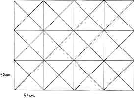Skisse over mønster