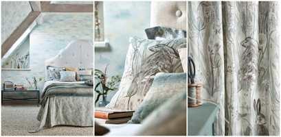 <b>LUFTIG:</b> Selv med mange mønster er dette rommet som en mild bris en finværsdag.