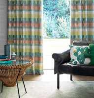 <b>RETRO:</b> Både farger og mønstermiksen i denne kolleksjonen gir assosiasjoner til 60-tallet.