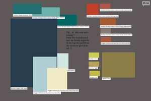<b>MOODBOARD:</b> Med et moodboard kan du eksperimentere og finne ut hvilke farger som kjennes gode for deg. (Foto: ifi.no)