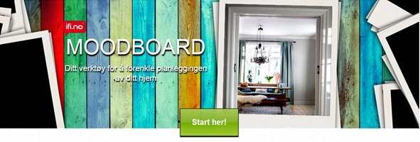 <b>BLI INSPIRERT:</b> Lag ditt første moodboard nå!